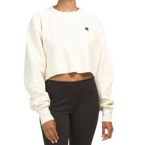 ⭐️ NWT Champion Cut Off Crewneck Sweatshirt